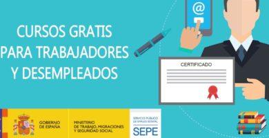 Cursos Gratis para Trabajadores y Desempleados del SEPE
