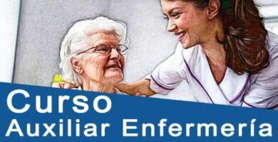 curso auxiliar enfermeria