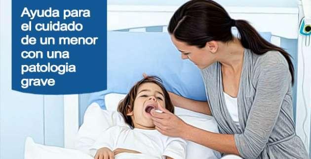 Ayuda para el cuidado de hijos menores con enfermedad grave