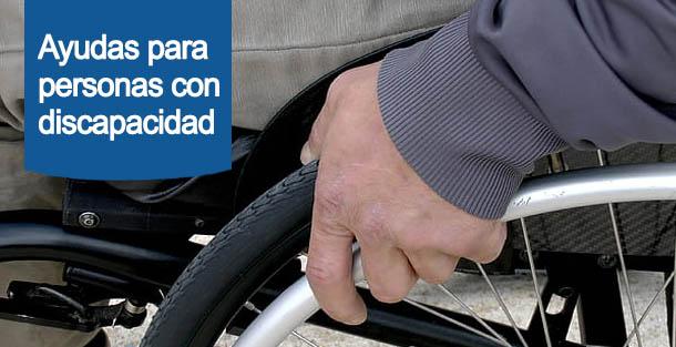 ayuda spara personas con discapacidad