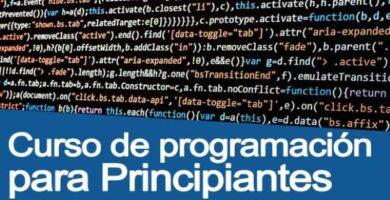 curso gratuito de programación