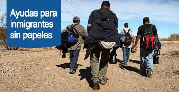 ayudas a inmigrantes sin papeles